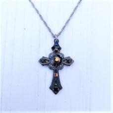 Ayala Bar Black Jewel Cross