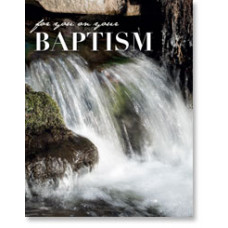 Baptism Waterfall Card Petite