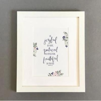 Be Joyful In Hope Framed Print