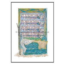 Lindisfarne Scriptorium Be By My Side A4 Print