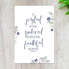 Be Joyful A5 Print
