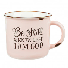 Be Still And Know Camping Style Mug
