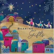 Tearfund Bearing Gifts Christmas Cards