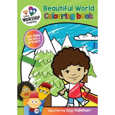 Little Worship Company Beautiful World Colouring Book