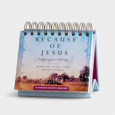 Because Of Jesus Perpetual Calendar