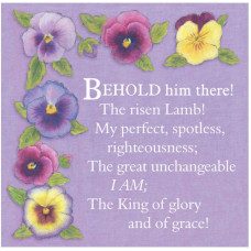 Behold Him There Easter Cards (5)