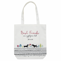 Best Friends Canvas Tote Bag