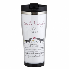 Best Friends Travel Tumbler
