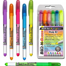 Bible Hi-Glider 6 Pen Pack