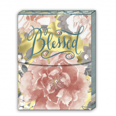 Handbag Notepads Blessed, Love Is Patient, Faith, Peace