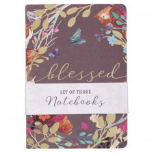 Blessed Is She Set Of Three Notebooks