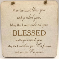 Be Blessed Plaque