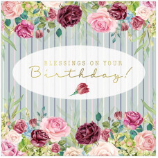Blessings on your birthday! Greetings Card