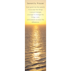 Bookmark Serenity Prayer Sunrise
