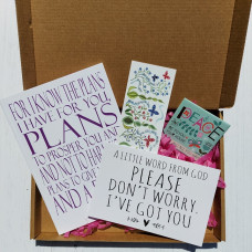 Christian Gift Package to Bless And Encourage Pink