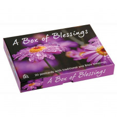 Box Of Blessings Cards Purple