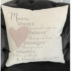 Cushion Mum Always Remember