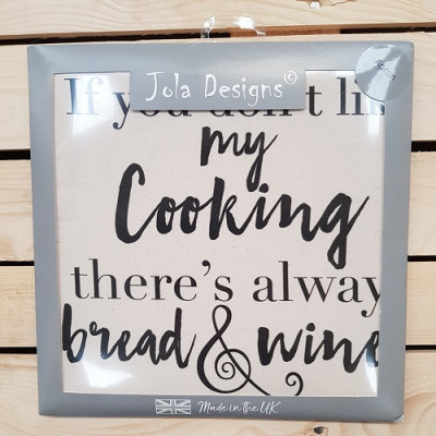 Apron - There's Always Bread And Wine!