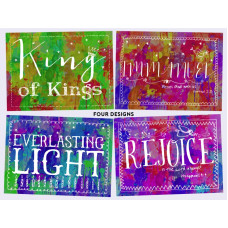 Christmas Cards Tearfund Bright Blessings 20 Pack