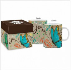 Boxed Mug Joy Butterfly