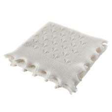 Wool Butterfly Baby Shawl