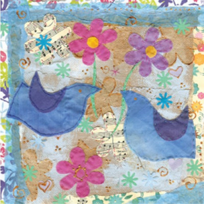 Small Bluebird Greetings Card
