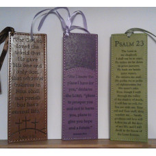 Lux Leather Bookmarks