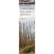 Bible Bookmark Streams Of Peaceful Water