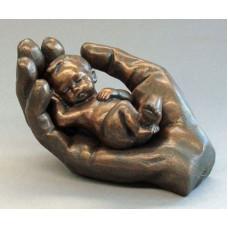 Baby in Hand Bronze