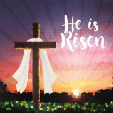 Easter Cards Pack of 5 - He Is Risen