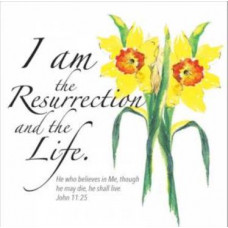 Easter Cards - I Am The Resurrection
