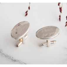 I Know The Plans Cufflinks