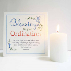 Ordination Blessings Card