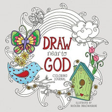 Draw Near To God Colouring Journal