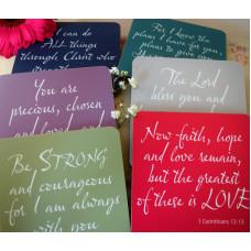 Set of 6 Verse Coasters