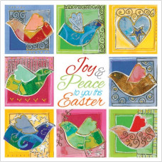 Easter Card Pack of 5 - Joy and Peace To You