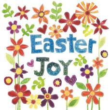 Easter Cards Pack of 5 - Easter Joy Floral
