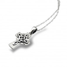 Cross with Celtic Knotwork