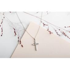 Eternal Cross With Diamante