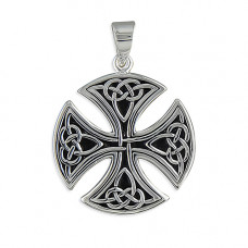 Round Celtic Cross and Chain