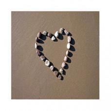 Heart Pebble Card