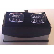 Cufflinks With Bible Verses