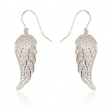Large Angel Wing Earrings