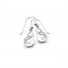 Celtic Musical Swirls Drop Earrings