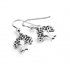 Tree Of Life Hanging Earrings