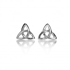 Simple Trinity Knot Earrings