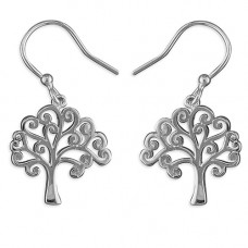 Tree Of Life Swirly Earrings