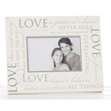 Love is Patient Picture Frame