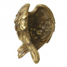 Gold Angel Wing Holder