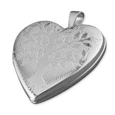 Tree Of Life Heart Shaped Locket